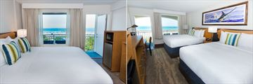Guy Harvey Resort on Augustine Beach, Oceanfront Room King and Oceanfront Room Two Queens