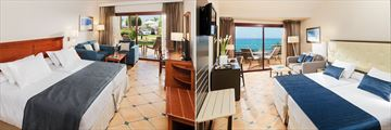 Double Room and Superior Privilege Room at H10 Playa Meloneras
