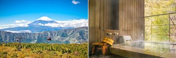 Hakone Landscapes & Japanese Onsen Bath