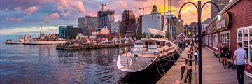 Halifax harbour, Nova Scotia