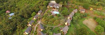 Aerial View of Hanakee Hiva Oa Pearl Lodge