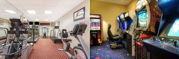 Hawthorn Suites Lake Buena Vista, Fitness Centre and Gamesroom