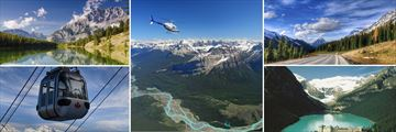 Helicopter Tour & The Stunning Scenery of the Rocky Mountains in Banff