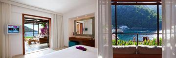 Beautiful rooms at Hillside Beach Club