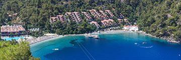 An aerial view of Hillside Beach Club