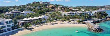 Hodges Bay Resort & Spa, Aerial View of Resort