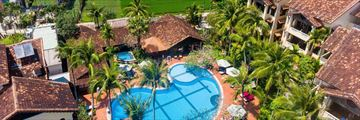 Hoi An Trails, Aerial View of Resort and Pool