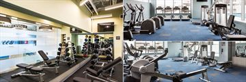 Fitness Centre at Holiday Inn Capitol