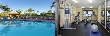 Pool and Fitness Centre at Holiday Inn Express & Suites Naples Downtown – 5th Avenue