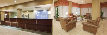 Holiday Inn Express Toronto Downtown, Reception and Lobby