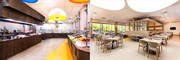 Buffet and Restaurant at Holiday Inn Resort Suites & Waterpark