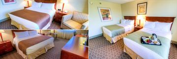 King Guest Room, Two Double Bed Guest Room and Executive King Guest Room at Holiday Inn Tampa Westshore
