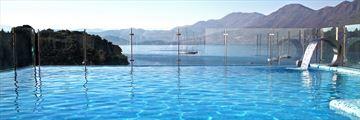Pool views at Hotel Cavtat