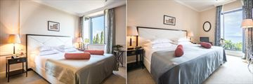 Standard Room and Superior Sea View Room at Hotel Park