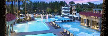 Hyatt Regency Scottsdale Resort & Spa at Gainey Ranch, Aerial View of Resort and Pools