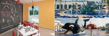 Children's Play Room and Pool at Iberostar Bella Vista