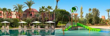 The main pool and kids pool at Iberostar Club Palmeraie Marrakech