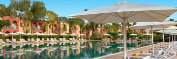 The pool at Iberostar Club Palmeraie Marrakech