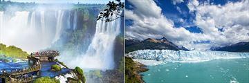 Iguazu Falls & Perito Moreno Glacier, Argentina