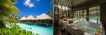 Intercontinental Bora Bora Resort Thalasso Spa, Spa by Clarins Exterior and Treatment Room