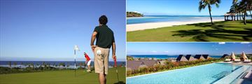 Golf, Beach and Pool at InterContinental Fiji Golf Resort & Spa