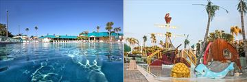 Main Pool and Kids Pool at International Palms Resort Cocoa Beach