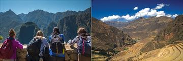 Families trekking the Inca Trail and Sacred Valley. Copyright: Intrepid.