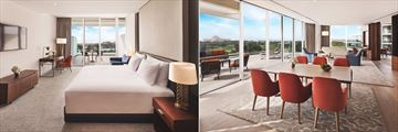 Luxury Two Bedroom Suite at JA Lake View Hotel