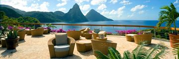 Jade Mountain, Lounge Terrace