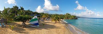 Beach views of Jamaica Inn