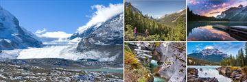 Athabasca Glacier & Stunning scenery in Jasper