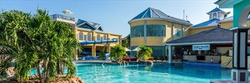 Jewel Paradise Cove Beach Resort & Spa, Pool and Sunken Treasure Swim-Up Bar