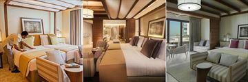 Jumeirah Al Naseem, Madinat Jumeirah, Deluxe Room, Twin Deluxe and Ocean View Superior
