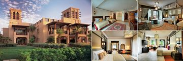 Jumeirah Dar Al Masyaf, Madinat Jumeirah, Gulf Summerhouse Exterior, Malakiya Villas Twin Room, Gulf Summerhouse Ocean Deluxe Room, Arabian Summerhouse Deluxe Room and Arabian Summerhouse Deluxe Suite