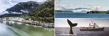 Juneau, Inside Passage & Whale Watching, Alaska