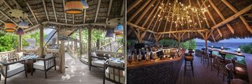 Kaashi and Rum Baan at JW Marriott Maldives Resort & Spa