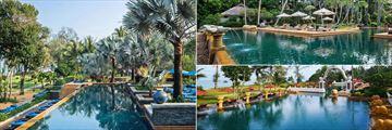 South Pool, North Pool and Main Pool at JW Marriott Phuket Resort & Spa