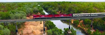 The Ghan crossing the Katherine River