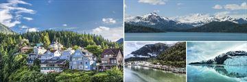 Ketchikan, Inside Passage, Juneau & Glacier Bay, Alaska