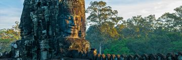 Khmer Tower in Siem Reap