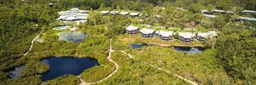 Aerial View of Kingfisher Bay Resort - Fraser Island
