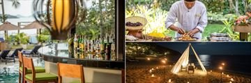 Wet Bar, cooking classes and romantic private dining at Outrigger Koh Samui
