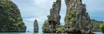 Limestone cliffs in Koh Yao