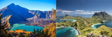 Komodo National Park & Mountain Rinjani on Lombok Island