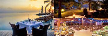 Kuredu Island Resort & Spa, Dining Options