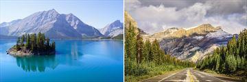 Stunning Mountain Scenery in Canada