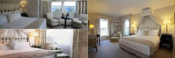 Lilianfels Blue Mountains Resort & Spa, Executive Valley View Suite, Deluxe View Room and Grand Deluxe Room