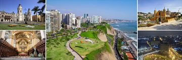 Sights and Scenery in Lima, Peru