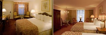 Little America Hotel, Courtside Room - King and Deluxe Garden Room - Two Queens