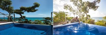 Ocean View Plunge Pool Villa Pools at Lizard Island Resort